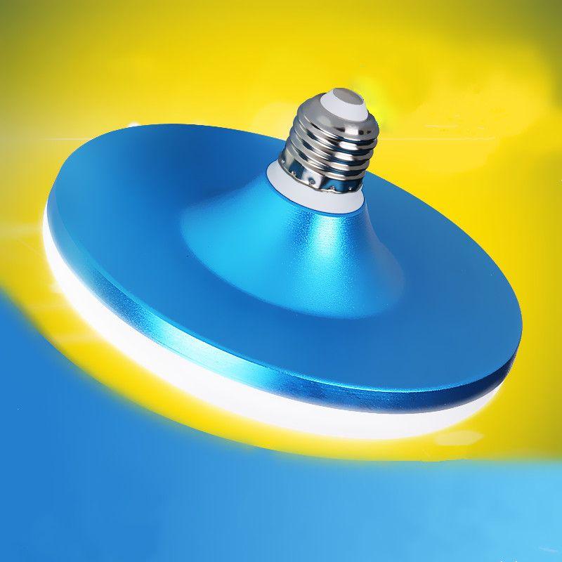 Alto Brillo impermeable UFO E27 LLEVÓ Las Lámparas Del Bulbo 220 V Inteligente 15 W 18 W 24 W 36 W 50 W 60 W blanco frío luz del hogar iluminación