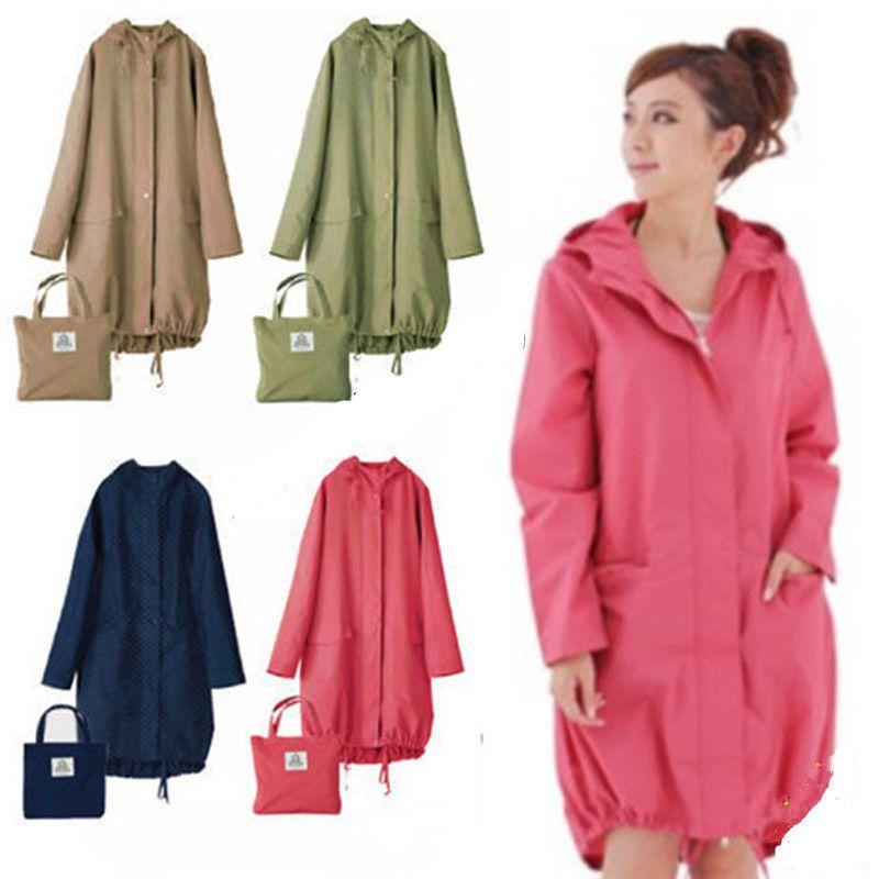 Long mince imperméable femmes hommes imperméable capuche lumière pluie manteau Ponchos veste cape femme Chubasqueros imperméables Mujer