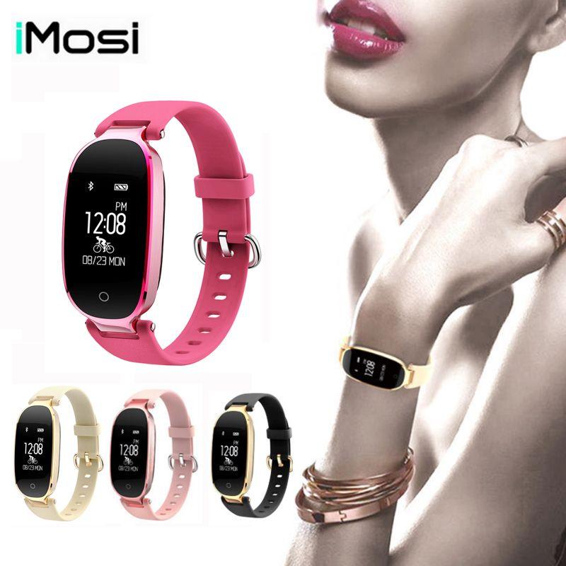 Imosi S3 Smart Band Bracelet Girl Women Heart Rate Monitor Wrist Smartband Lady Female Fitness Tracker Wristband