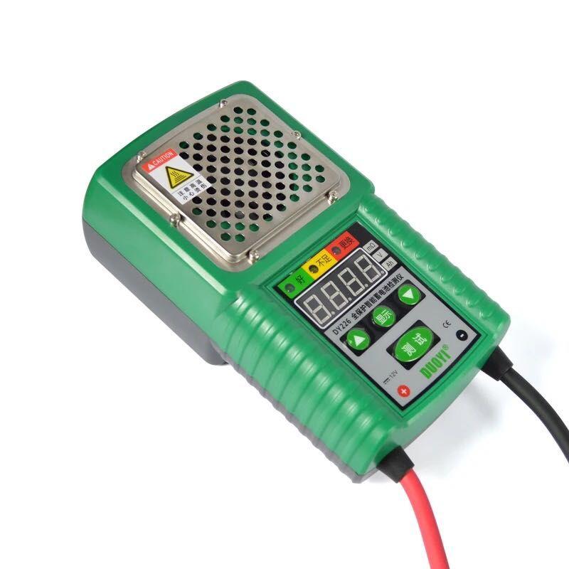 DY226 Auto Blei Lithium-Phosphat Elektrische UPS Solar Batterie Batterie Interne Widerstand Entladung Detektor Tester