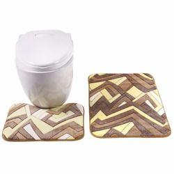 2 unids baño conjunto alfombra de baño antideslizante 45x50 cm y 50x80 cm/17.71x19.68in y 19.68x31.49in