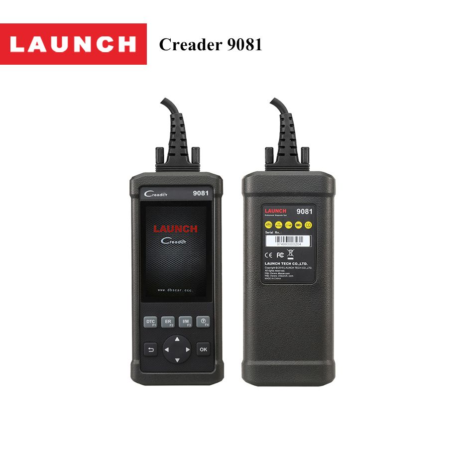 Launch CReader 9081 OBD2 Car Code Reader Reset diagnostic-tool OBDII Auto Car Diagnostic Scanner with Oil Lamp EPB/SAS/ BMS