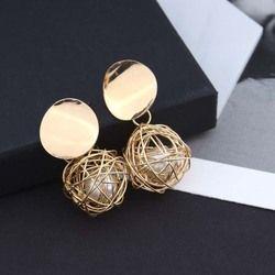 Moda declaración pendientes 2018 pendientes geométricos para las mujeres colgante pendiente pendientes gota Earing Joyería Moderna