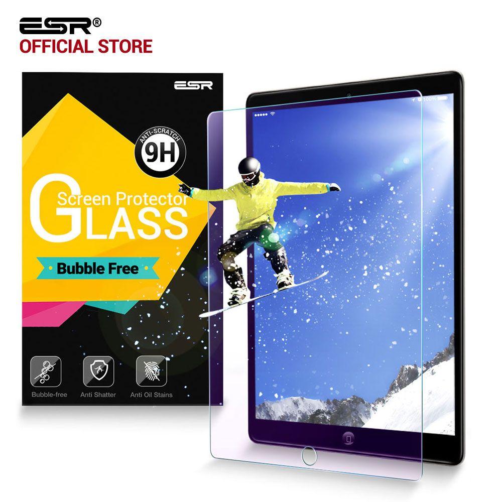 Displayschutzfolie für iPad Pro 12,9 2017/Pro 12,9 2015, ESR Anti Blue-ray 9 H Gehärtetem Glas bildschirm Film für iPad Pro 12,9 zoll