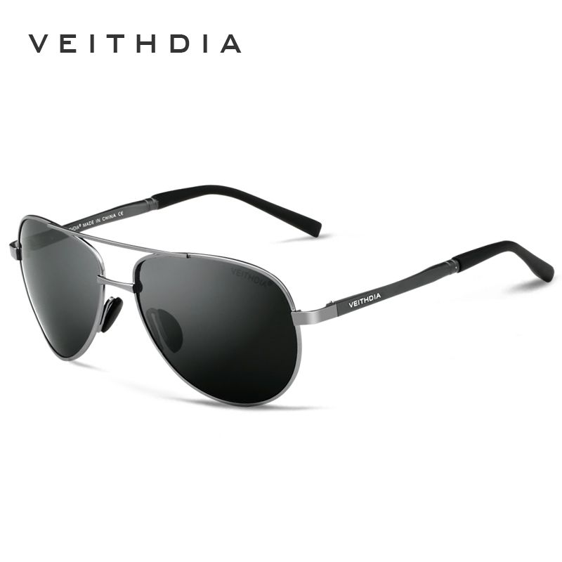 VEITHDIA Brand Men's Polarized Sunglasses UV400 Sun Glasses oculos de sol masculino Male Eyewear Accessories For Men Women 1306