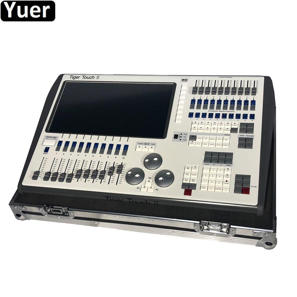 Professionelle Musik bühne Tiger Touch II Controller Neueste 11,10 ystem DMX Controller Core i5 prozessor Für Disco DJ Equipmen