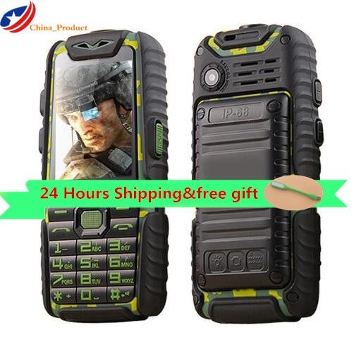 Gift! (24 hours shipping) Guophone A6 Mobile Phone Dual Sim 2.4