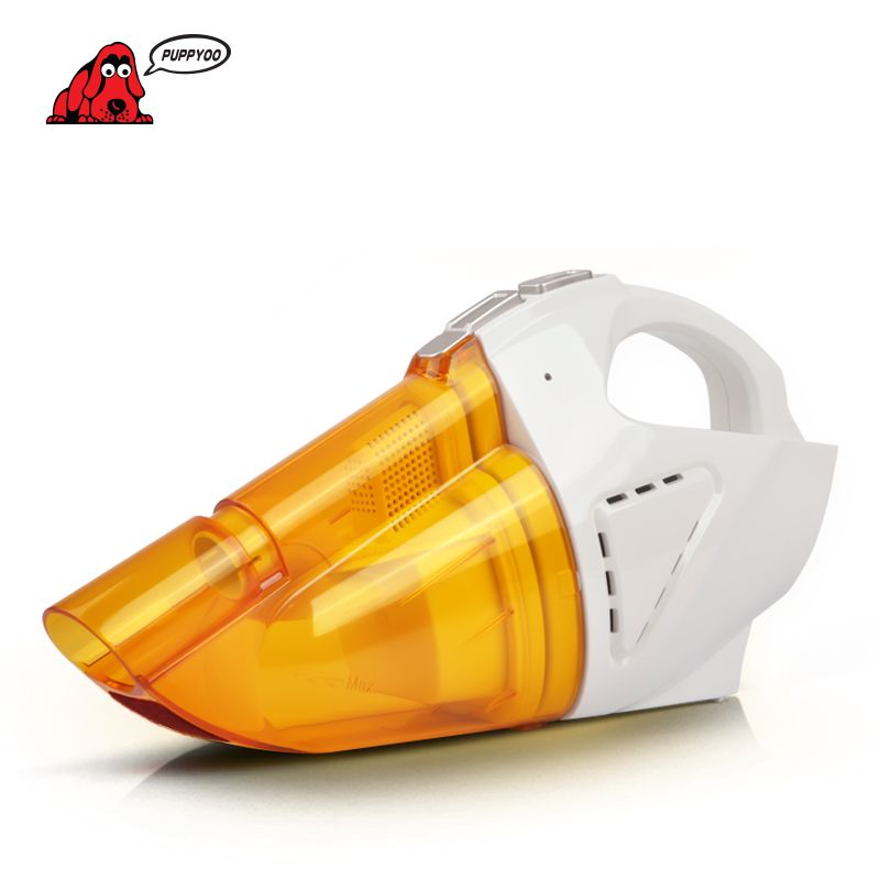 PUPPYOO Hot Sell Mini Vacuum Cleaner Car Charge Wet & Dry Dust Collector Dust Catcher Portable & Handheld Aspirator D-703