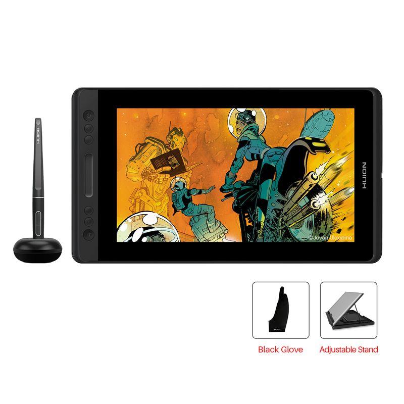 HUION Kamvas Pro 12 GT-116 Stift Tablet Monitor Art Grafik Zeichnung Pen Display Monitor mit Freies Geschenk Gl