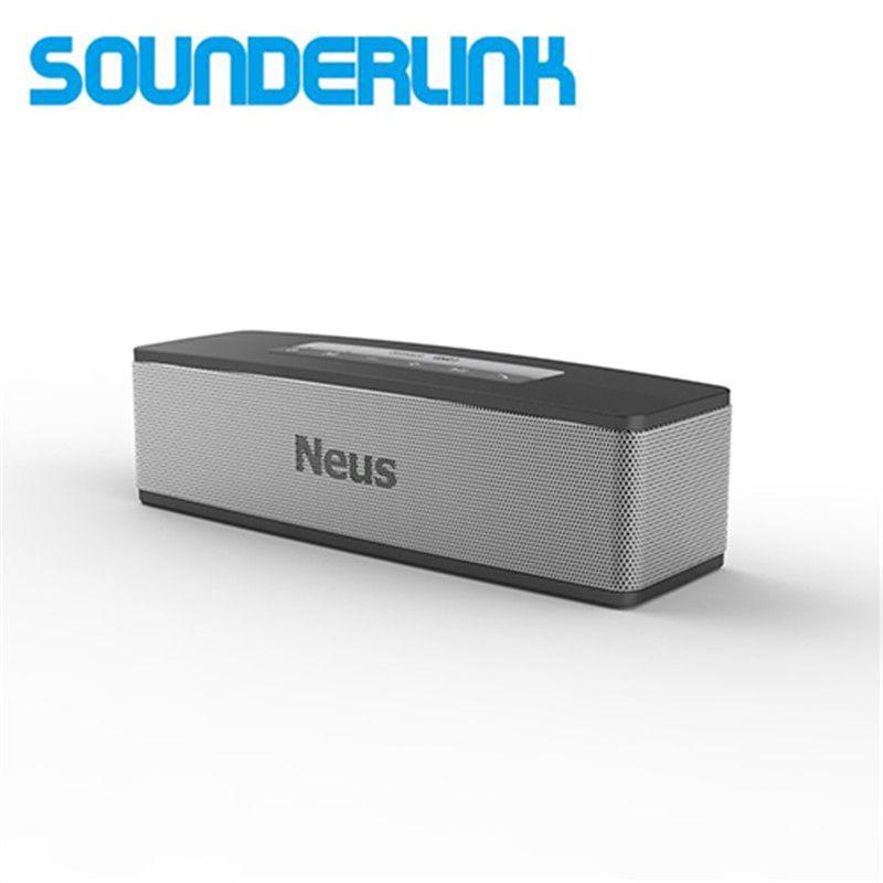 Neusound Neus 20 W Haute puissance Bluetooth haut-parleur potable caisse de résonance/Barre de Son avec une meilleure brevetés deep bass