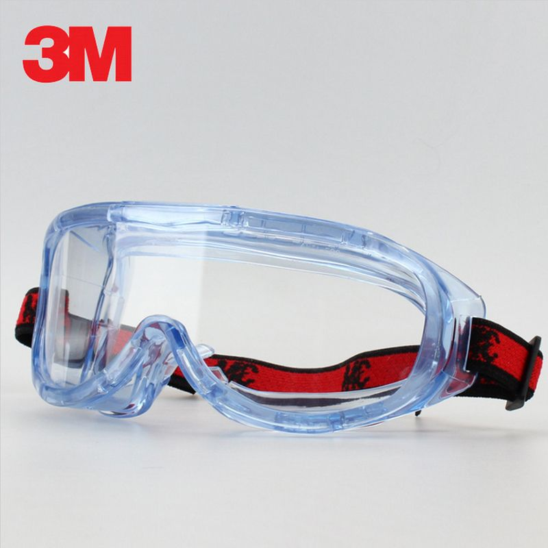 3 M 1623AF Anti-Impact et Anti-projections chimiques lunettes de Protection lunettes de Protection économie clair Anti-buée lentille Protection des yeux travail