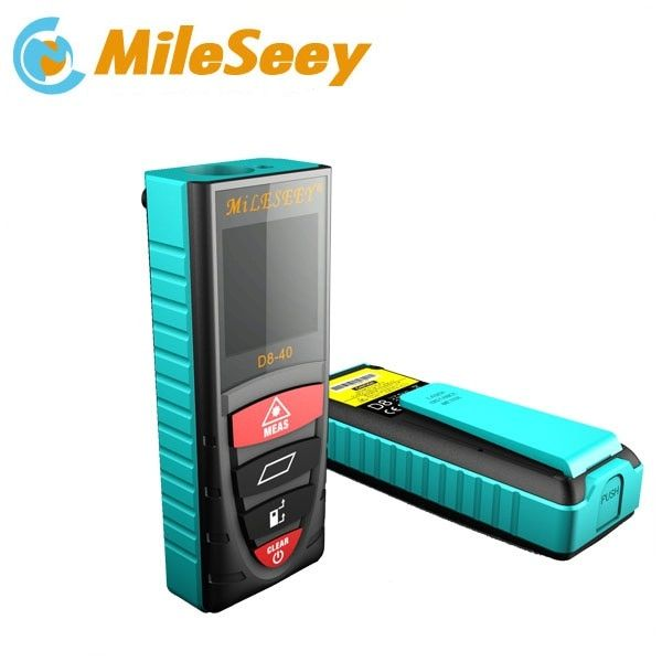 Laser Meter Tool Measurement Digital Distance Meter Electronic Measurement Instruments Laser Distance Meter D8 40m Blue