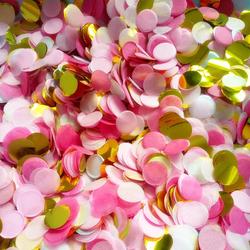 10g Par Sac 1 Pouce Lumineux Couleurs De Tissu Ronde Papier Confettis Arrose pour Ballon de Fête D'anniversaire de Mariage Décorations de Table