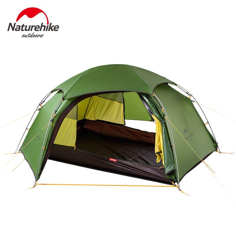 NatureHike Wolke peak 2 hexagonal ultraleicht zelt 2 person outdoor camping wandern 4 Saison Double Schicht Winddicht Zelt