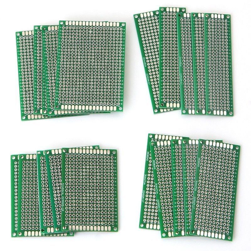 20pcs/set Double Side Protoboard Circuit Universal Prototype PCB Breadboard Board For Power Tool
