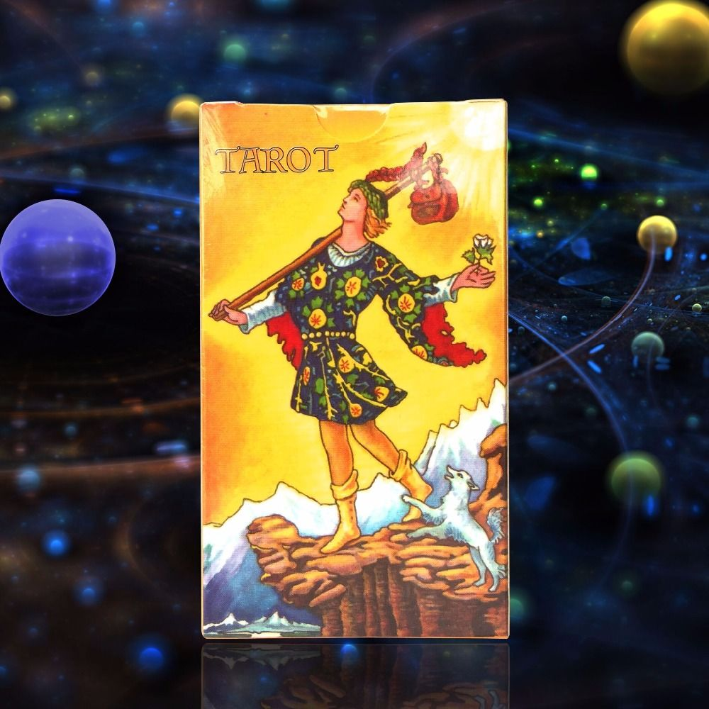 2018 Full English radiant rider wait tarot cards factory made high quality tarot card with colorful box, cards game, board game