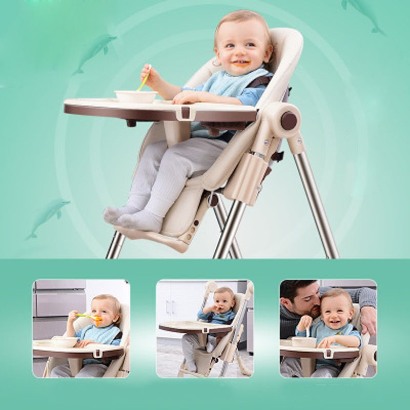 Chair for babies Multifunctional a chair for feeding Folding Children Dining Chair Portable baby high chair