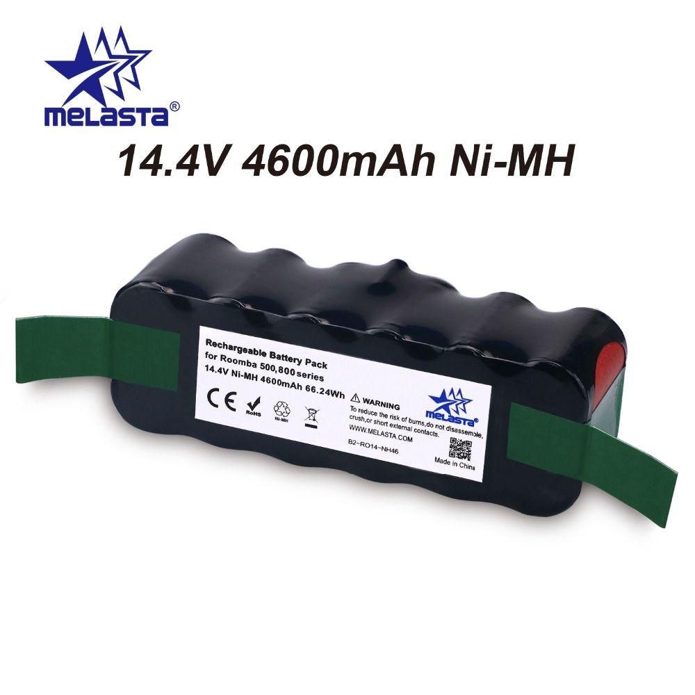 Updated Capacity 4.6Ah 14.4V NIMH battery for iRobot Roomba 500 600 700 800 Series 510 530 550 560 620 650 770 780 870 880 R3