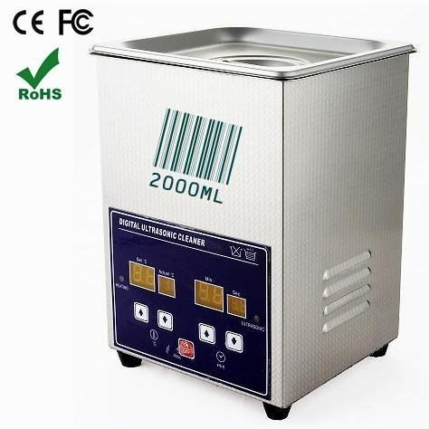 Digitale timing LCD Display Heizbar Volle Edelstahl High Power Ultraschall Reiniger 2000 ml, 70 watt. Jeken PS-10A