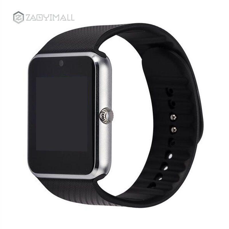 ZAOYIMALL Smartwatch GT08 Horloge Soutien Sync Notifiant Sim Carte Bluetooth Connectivité pour Android Apple iPhone Téléphone Montre Smart Watch