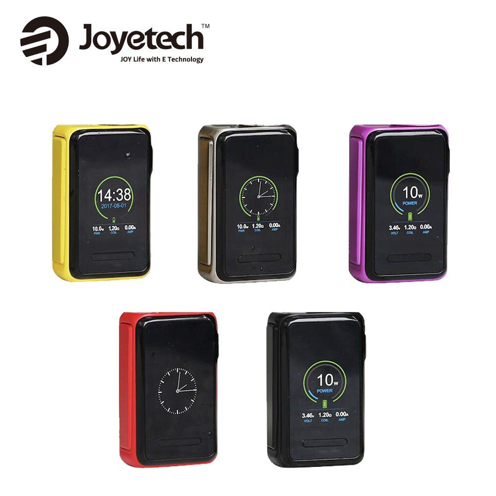 Original Joyetech QUADER Lite 80 Watt TC MOD W/3000 mAh Eingebaute batterie Max 80 Watt und 1,45-zoll Farbdisplay e-zig Vape Mod