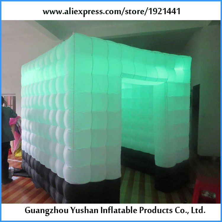 portable dirty prevent diy inflatable cabin foto booth
