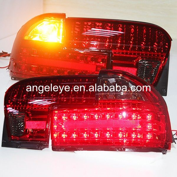 For Proton for Wira LED Tail Lamp rearlights 1992-2009 year  Red Black Color YZ