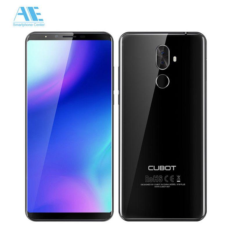 Cubot X18 Plus 18:9 FHD + 5,99 zoll 4 gb 64 gb Android 8.0 MT6750T Octa-Core Smartphone 20MP + 2MP Hinten Kameras 4000 mah 4g Celular
