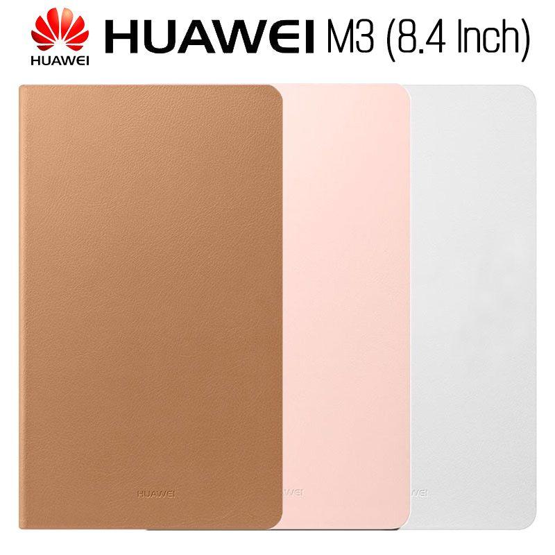 Huawei Mediapad M3 Fall Original Offizielle Smart View HUAWEI M3 Fall Ständer Flip Leder Fall Funktion Stehen Tablet Abdeckung 8,4