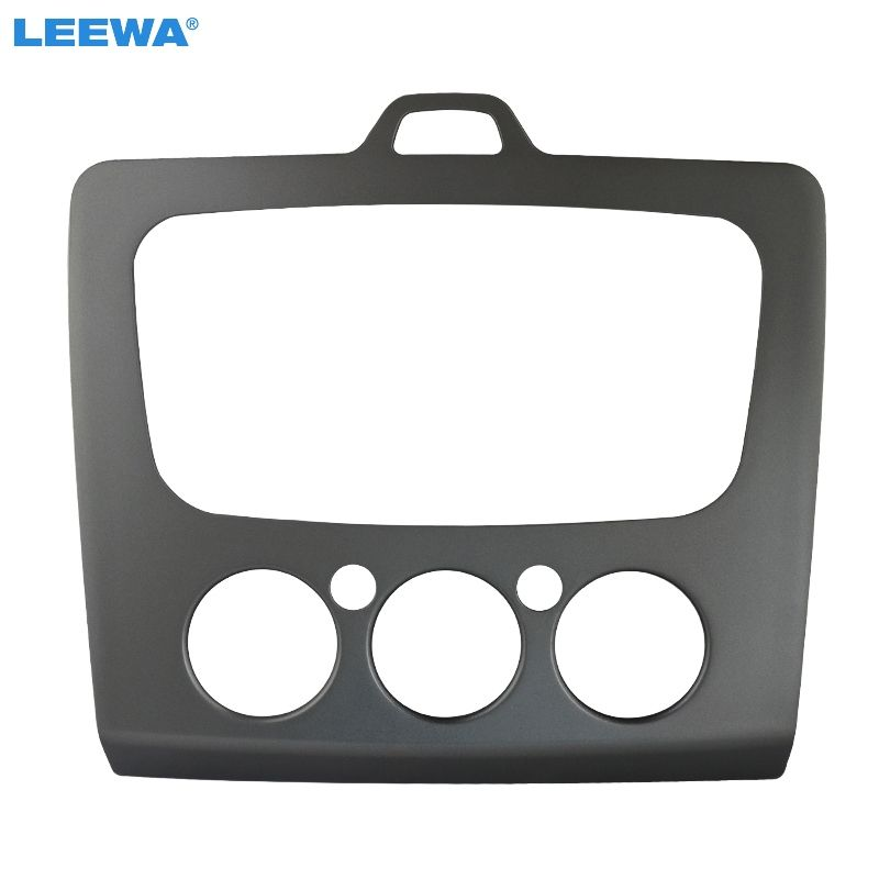 LEEWA Car refitting DVD frame DVD panel Dash Kit Fascia Radio Frame Audio frame for 2010 FORD Focus combination,2din #CA3091