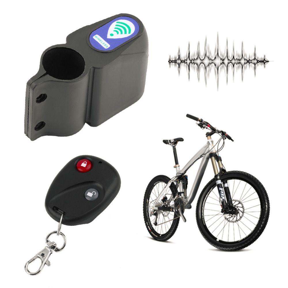 Professionelle diebstahl Fahrradschloss Radfahren Sicherheitsschloss Fernbedienung Vibrationsalarm Fahrrad Vibrationsalarm