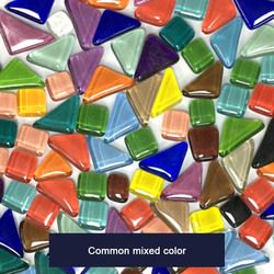 500 pcs Campuran Warna Persegi Buah Tessera untuk Mosaik Kaca Mosaik Ubin Membuat DIY Craft Art P20