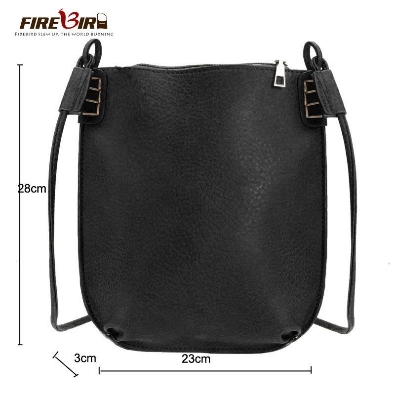 2018 Vintage Women Messenger Bag Ladies Small Bucket Women's Handbags Leather Crossbody Bags for Women Shoulder Bag Bolso FN437