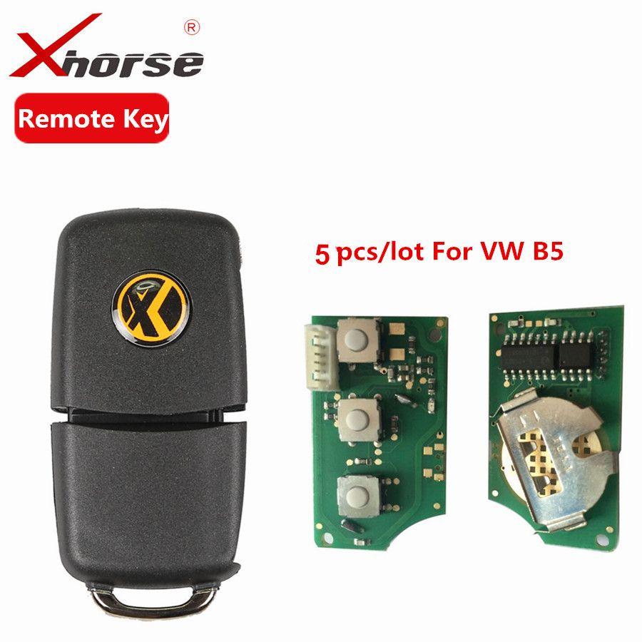 X001-01 Xhorse Remote Key 3 Tasten Bord Für B5 Typ VVDI2 Mini Fernbedienung Programmierer Fernbedienung Chip Schlüssel Programm 5 teile/los