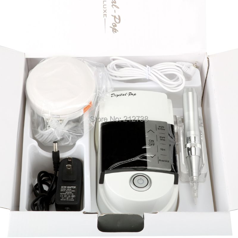 New arrival Light and convenient Tattoo Machine Eyebrow Lip Eyeline Digital Permanent Makeup Machine Pen Kit