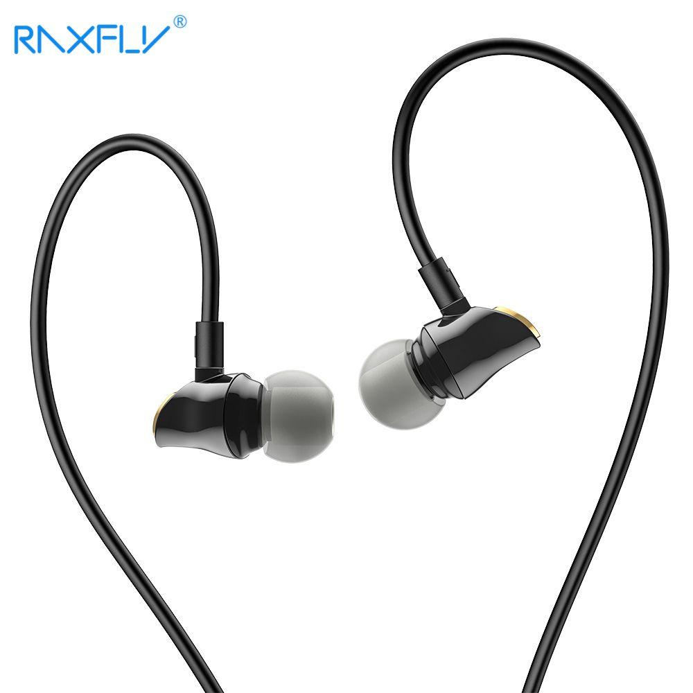 RAXFLY Verdrahtete Kopfhörer Für iPhone Xiaomi Samsung 3,5mm Headset In-ohr Musik Kopfhörer Noise Stornieren Ohrhörer Mikrofon Fone De Ouvi