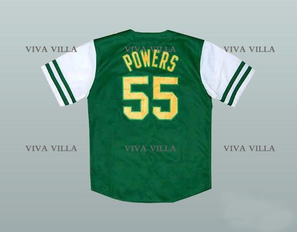 Kenny Powers 55 Eastbound and Down Mexican Charros Baseball Jersey Stitched Men Jerseys S-6XL Free Shipping