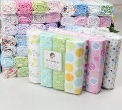 4 pcs/pack 100% coton supersoft flanelle Bébé couverture, bébé recevant la couverture Drap, swadding pour infantile, drap de coton pour bébé