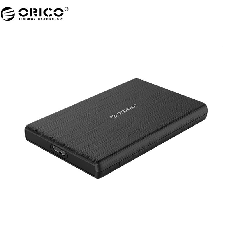 ORICO 2189U3 2.5 Inch HDD Case USB3.0 Micro B External Hard <font><b>Drive</b></font> Disk Enclosure High-Speed Case for SSD Support UASP SATA III