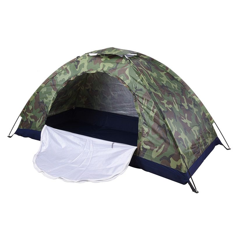 2017 tragbare Camping Strand Military Zelt Sonnenschutz Shelter Outdoor Wandern Reisen Ultraleicht Angeln Camouflage Zelte