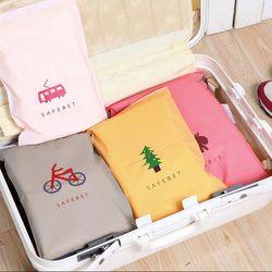 Модные дорожные сумки для хранения Органайзер на молнии, сумка для одежды, нижнее белье, носки, обувь, сумка для хранения, домашняя обувь 305