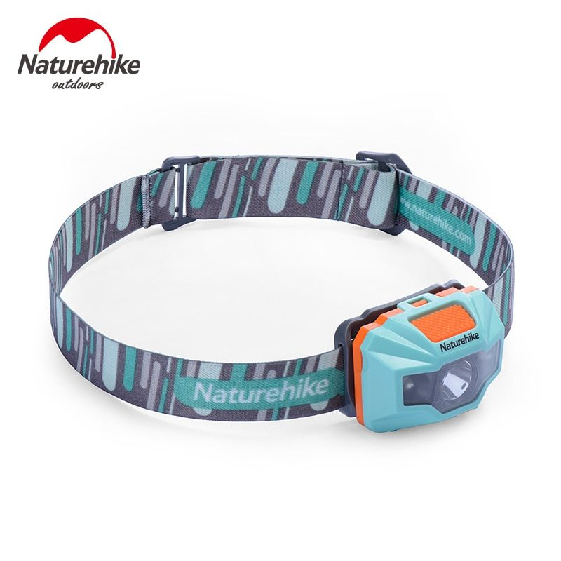 Naturehike Ultralight Waterproof USB Charge LED Headlamp 4 Modes Headlight For Night Fishing Hiking Camping Cycling <font><b>Running</b></font>