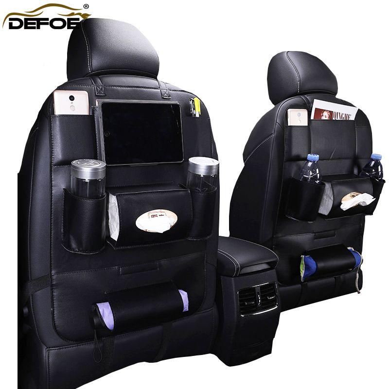 Nouveau Design De Mode siège De Voiture sac de stockage de voiture siège arrière sac de voiture styling Multifonction sac siège de sécurité pour enfant de voiture steat sac à dos