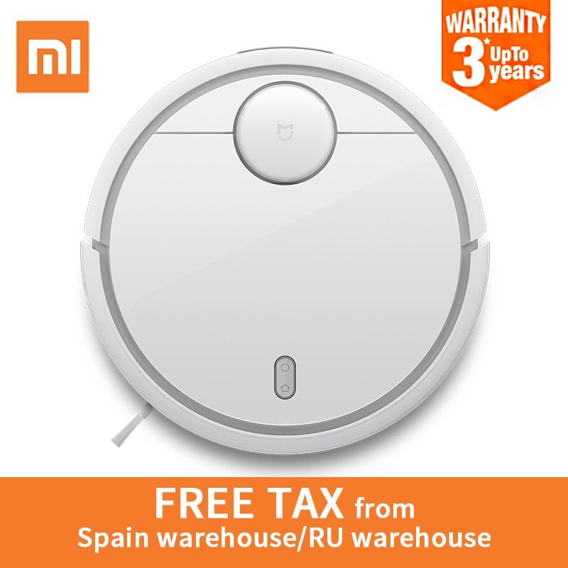 Global Version Original XIAOMI MI <font><b>Robot</b></font> Vacuum Cleaner MI Robotic Smart Planned Type App Control Auto Charge LDS Scan Mapping