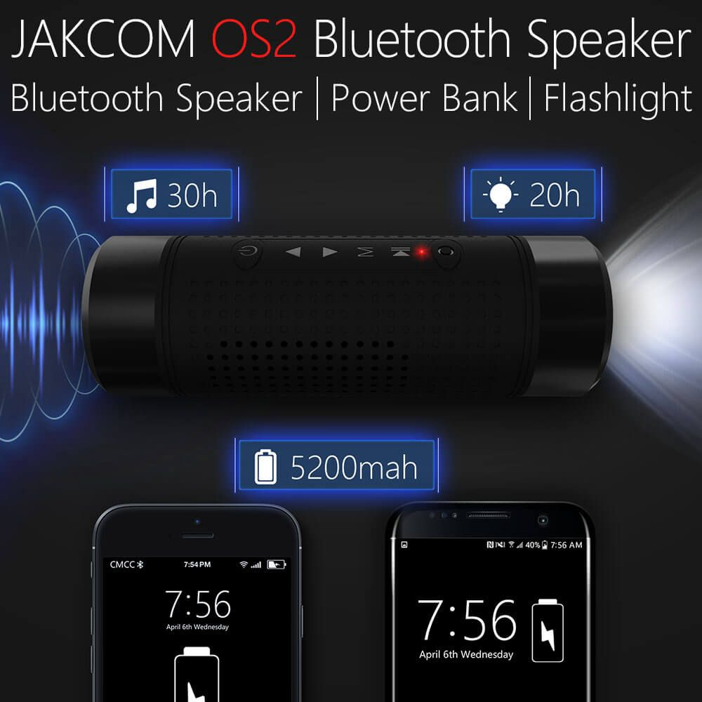 Jakcom OS2 Outdoor Bluetooth Speaker Wireless Bicycle 5200mAh Power Bank Super Bass <font><b>Loudspeaker</b></font> Music Player LED Flashlight Bike