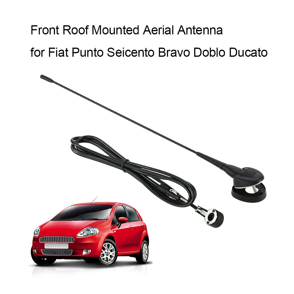 Front Roof Mounted Aerial Antenna for Fiat Punto Seicento Bravo Doblo Ducato