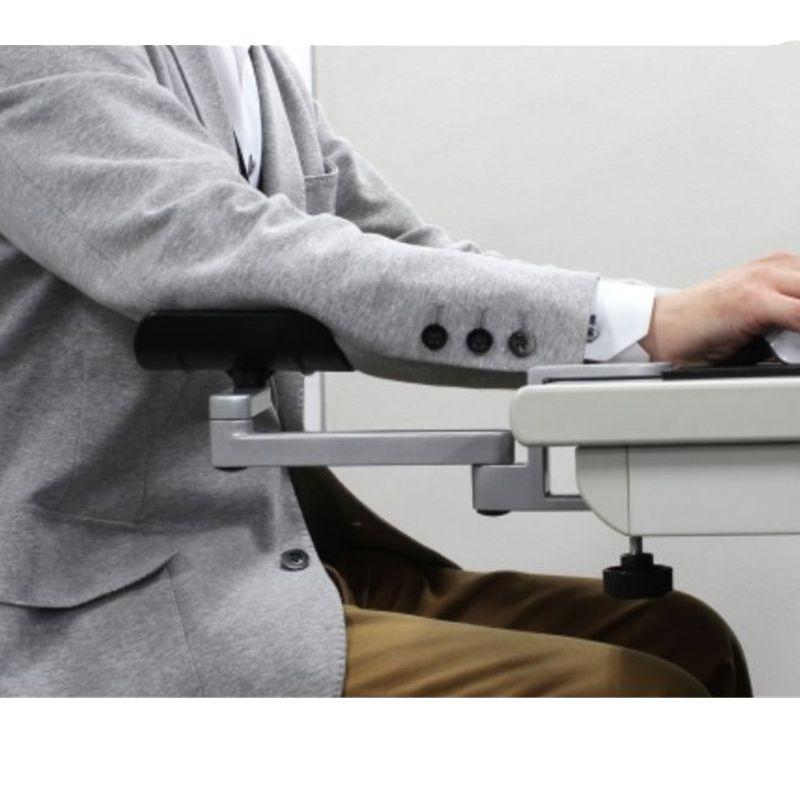 Ergonomic Computer Satisfy Computer Armrest Adjustable Arm Wrist Rest Support for Home and Office Mouse Hand Bracket
