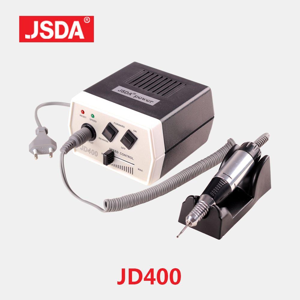 Vente directe JSDA JD400 35 w ongles Art équipement manucure Machine pédicure meulage outil peu fichier électrique ongles forets 30000 tr/min