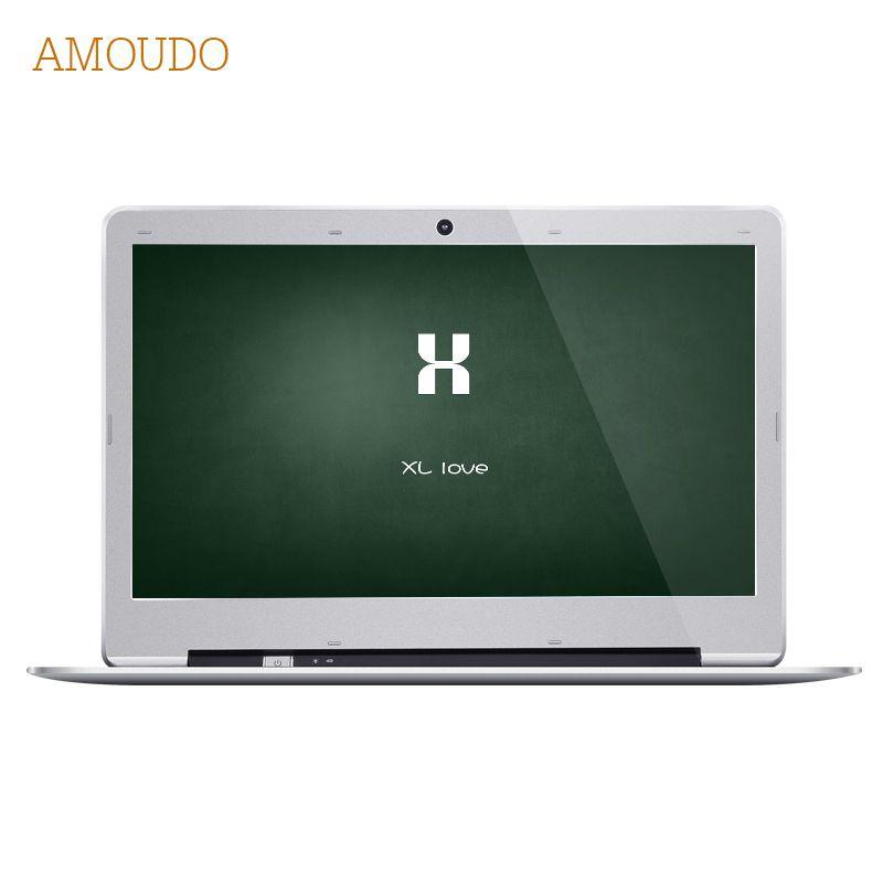 Amoudo-S3 14 pouce 8 GB Ram + 120 GB SSD + 1 TB HDD Intel Pentium Quad Core Windows 7/10 système De Mode Nouvel Ordinateur Portable Ordinateur Portable