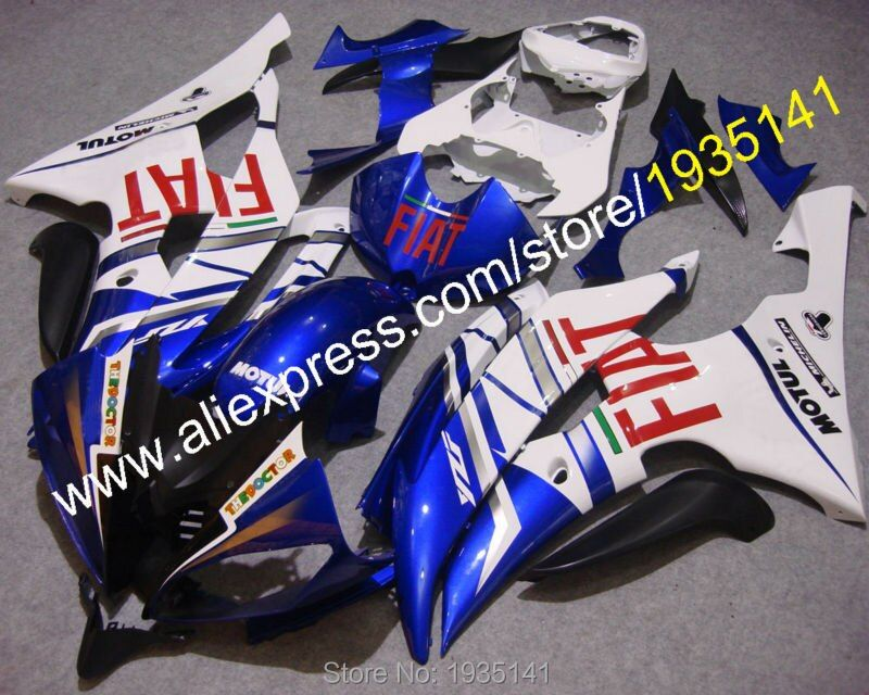 Hot Sales,For Yamaha YZF600 R6 08 09 10 11 12 13 14 15 16 YZF-R6 YZFR6 aftermarket kit Fairing bodywork Set (Injection molding)